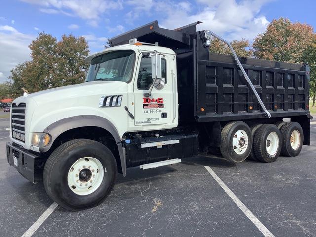 2011 Mack GU713 8x4 Tri/A Dump Truck
