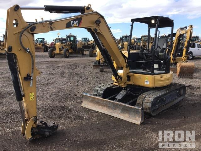2016 Cat 305.5E2 CR Mini Excavator, Mini Excavator (1 - 4.9 Tons)