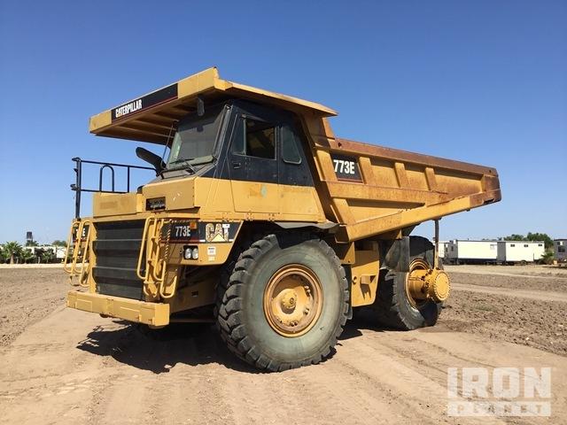 Cat 773E Off-Road End Dump Truck, Rock Truck