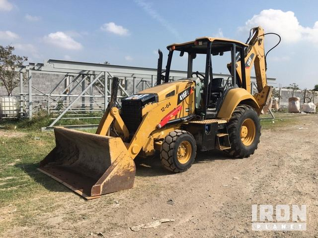 2015 Cat 416F2 4x2 Backhoe Loader, Loader Backhoe