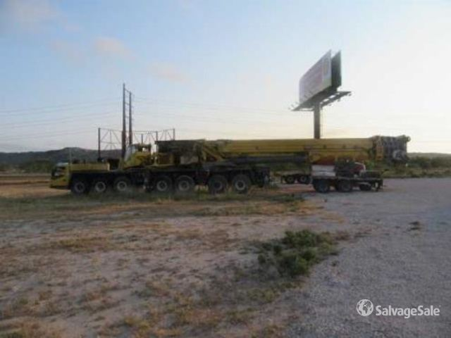 2006 (unverified) Grove GMK7550 All Terrain Crane, All Terrain Crane
