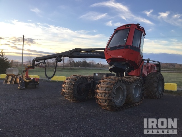 2015 Komatsu 931.1 Wheel Harvester, Harvester