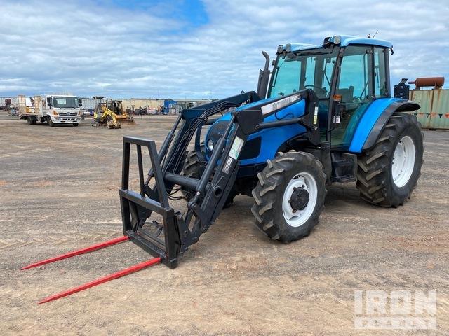 Laudini Ghibli 80 4WD Tractor, MFWD Tractor