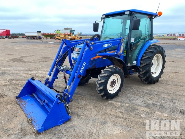 2014 Iseki TG5570F 4WD Tractor, MFWD Tractor