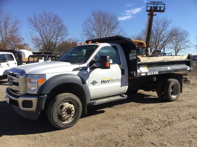 2016 Ford F-550 Super Duty XL 4x4 Dump Truck