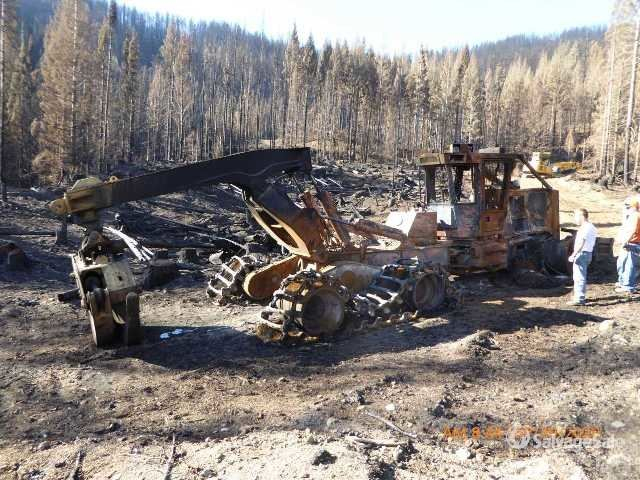 2014 (unverified) Tigercat 635D Wheel Skidder, Parts/Stationary Construction-Other