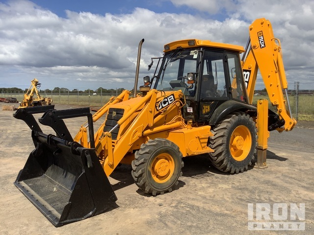 1994 JCB 3CX-4 4x4 Backhoe Loader, Loader Backhoe