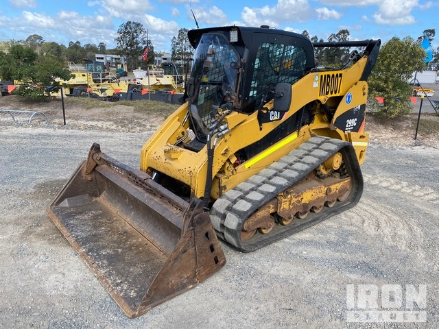 2012 Cat 299C Two-Speed High-Flow Compact Track Loader, Compact Track Loader