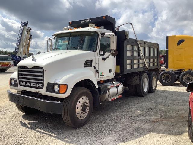 2003 Mack CV713 6x4 T/A Dump Truck