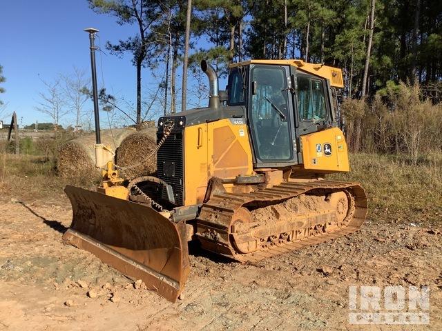 2015 John Deere 650K LGP Crawler Dozer, Crawler Tractor