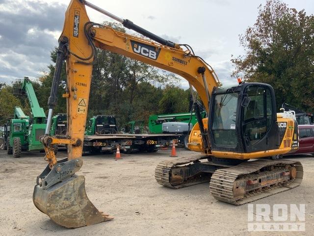 2012 (unverified) JCB JS145LC Track Excavator, Hydraulic Excavator