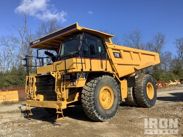 Cat 773 Off-Road End Dump Truck, Rock Truck