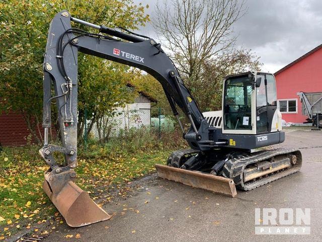 2012 Terex TC125 Track Excavator, Hydraulic Excavator