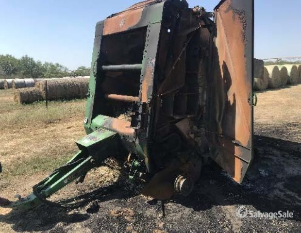 2010 (unverified) John Deere 468 Round Baler, Parts/Stationary Construction-Other