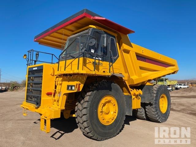 Komatsu HD605-5 Off-Road End Dump Truck, Rock Truck