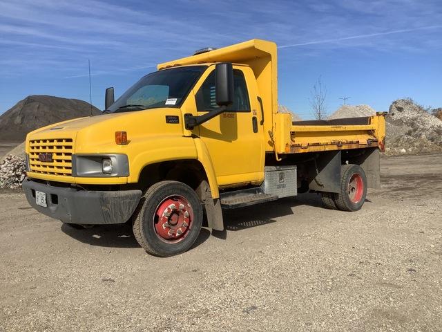 2003 (unverified) GMC C4500 4x2 S/A Dump Truck