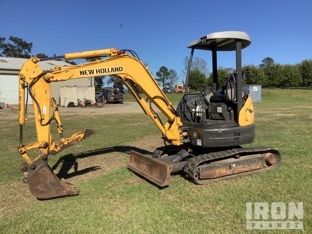 New Holland E30SR Mini Excavator, Mini Excavator (1 - 4.9 Tons)
