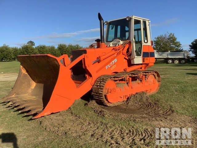 Fiat-Hitachi FL175 Crawler Loader, Crawler Loader