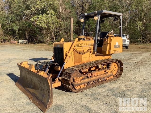 Case 550G Crawler Dozer, Crawler Tractor