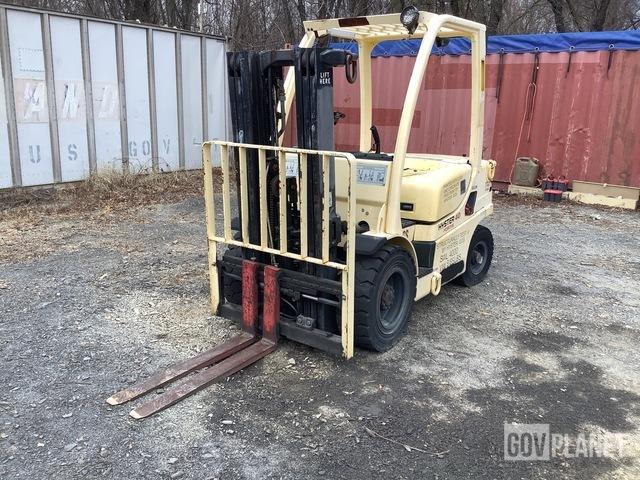 Hyster H40FTM Pneumatic Tire Forklift, Forklift