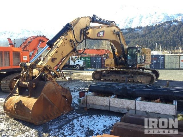 2015 (unverified) Cat 390FL Track Excavator: ≥70t, Hydraulic Excavator
