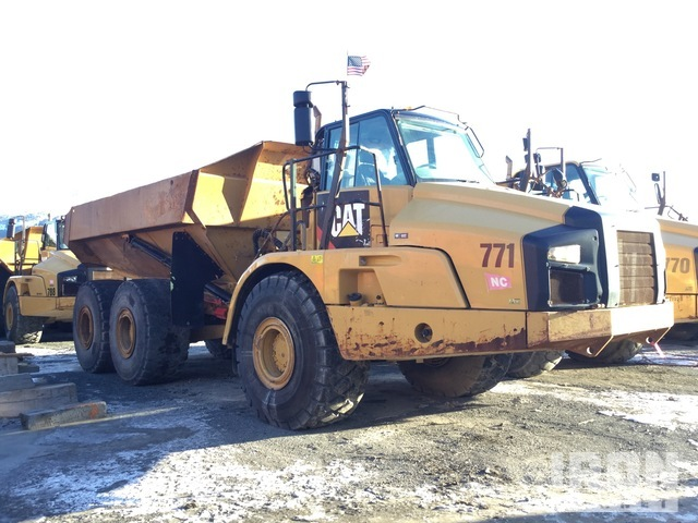 2013 Cat 740B 6x6 Articulated Dump Truck, Articulated Dump Truck