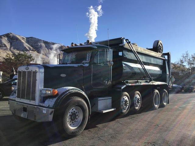 1998 Peterbilt 357 6x4 Quad/A Dump Truck