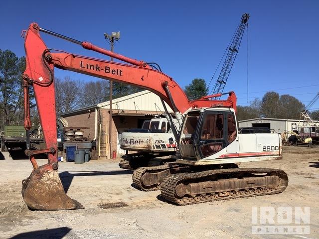 2000 Link-Belt 2800 Quantum Track Excavator, Hydraulic Excavator