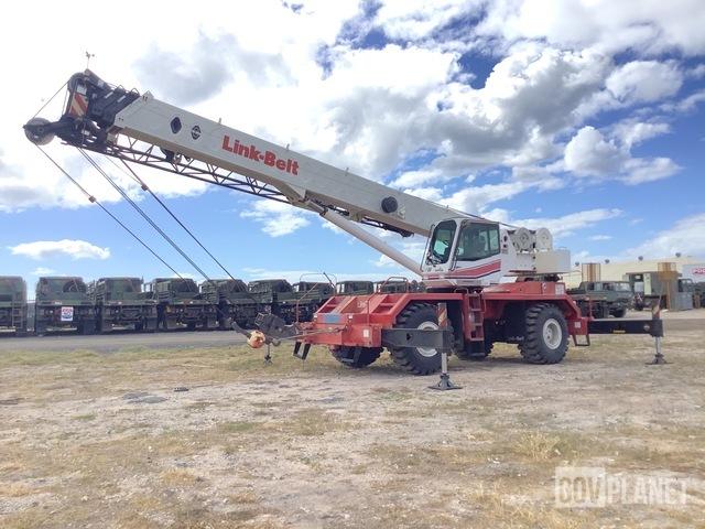 Linkbelt RTC 8050 II Rough Terrain Crane, Rough Terrain Crane