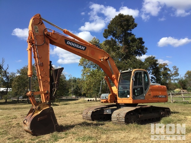 Doosan DX225LC Track Excavator, Hydraulic Excavator