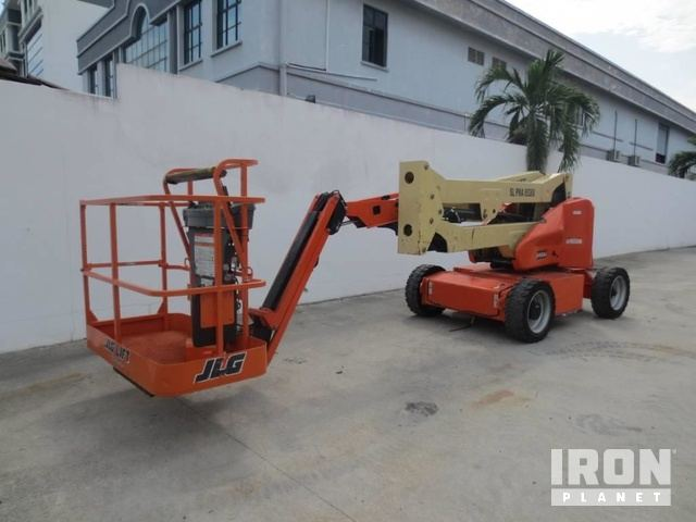 2018 JLG E450AJ Electric Articulating Boom Lift, Boom Lift
