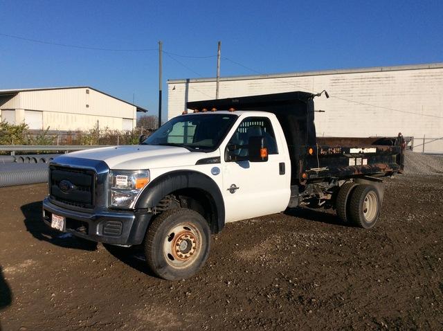 2014 Ford F-550 Super Duty 4x4 S/A Dump Truck