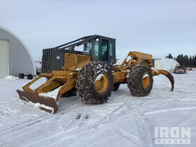 2005 (unverified) John Deere 748G Series III 4x4 Wheel Skidder, Skidder