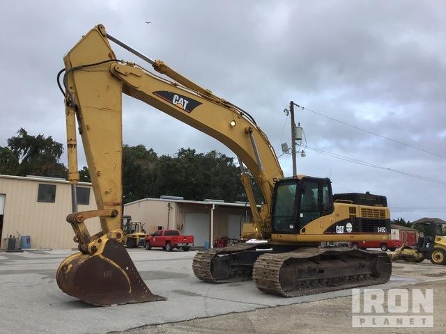 2006 Cat 345C L Track Excavator, Hydraulic Excavator