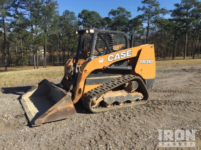 2017 Case TR310 Compact Track Loader, Compact Track Loader