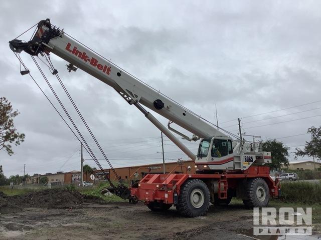 2012 Link-Belt RTC8065 65 ton 4x4x4 Rough Terrain Crane, Rough Terrain Crane