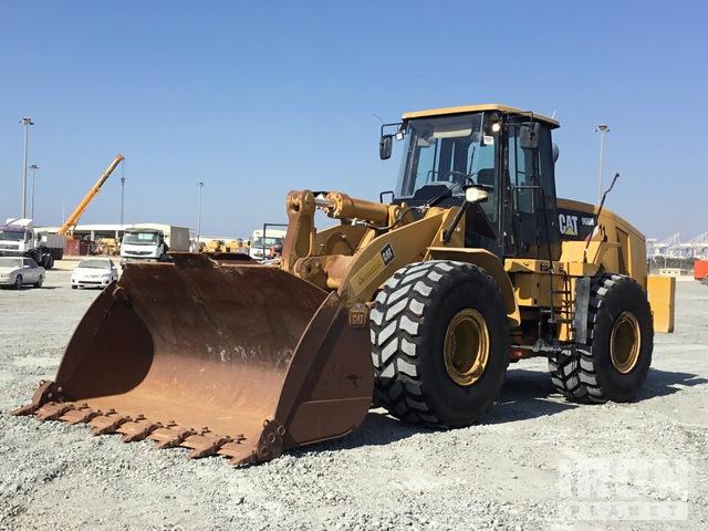 2017 Cat 966H Wheel Loader