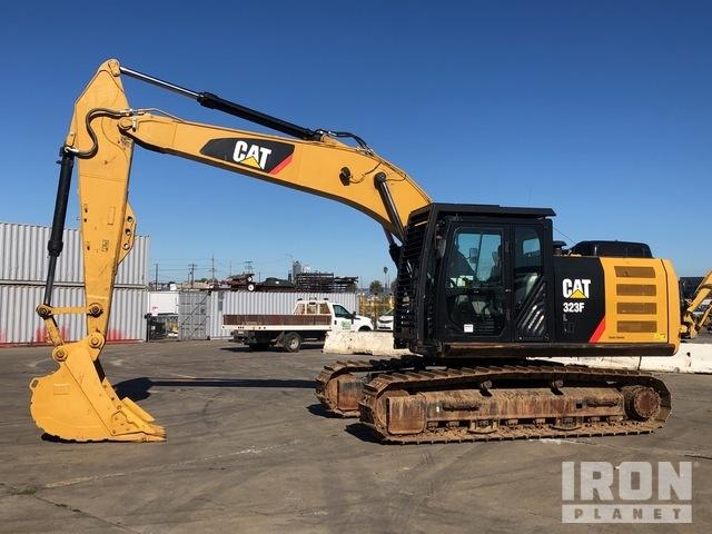2016 (unverified) Cat 323FL Track Excavator, Hydraulic Excavator