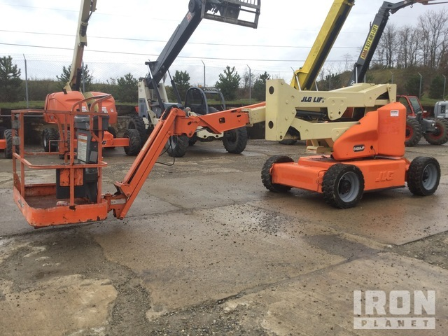 JLG E400AJP Electric Articulating Boom Lift, Boom Lift