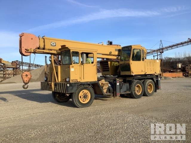 Grove TM150 30000 lb 6x4 Hydraulic Truck Crane, Hydraulic Truck Crane