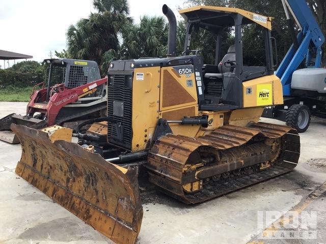 2015 John Deere 650K Crawler Dozer, Crawler Tractor