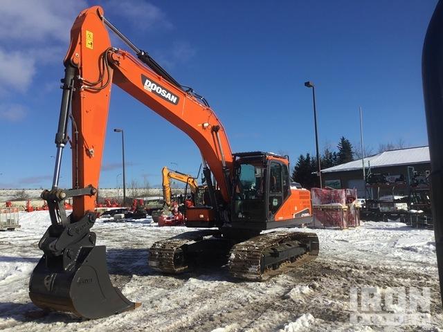 2017 Doosan DX225LC-5 Track Excavator, Hydraulic Excavator