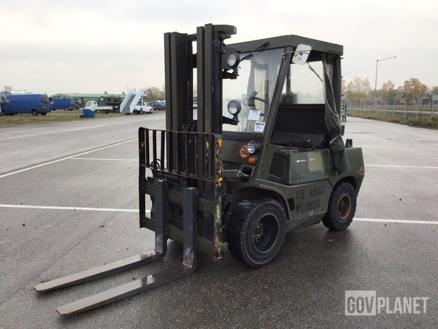 1985 Still DFG 3/4106 Pneumatic Tire Forklift, Forklift