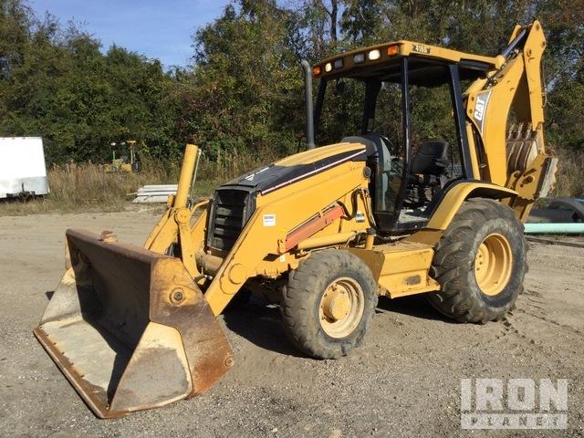 2005 (unverified) Cat 416D 4x4 Backhoe Loader, Loader Backhoe