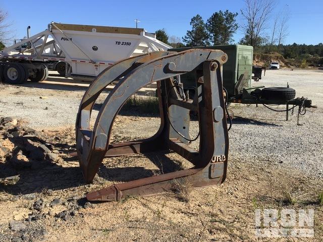 JRB 66 in. Wheel Loader Log Grapple, Wheel Loader Grapple