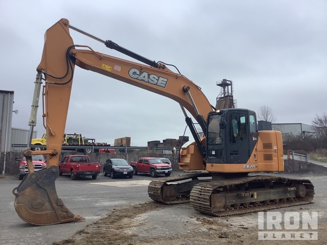 2012 (unverified) Case CX225SR Track Excavator, Hydraulic Excavator