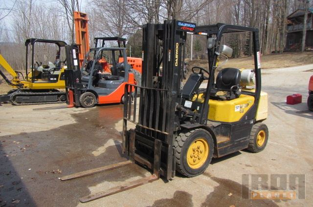 2004 (unverified) Daewoo G25P-3 Pneumatic Tire Forklift in Kimberley