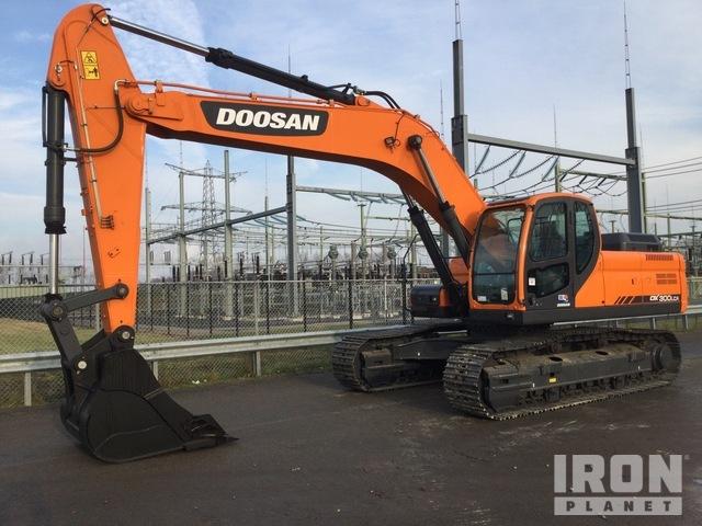 2020 Doosan DX300LCA Track Excavator, Hydraulic Excavator