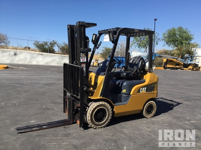 2016 Cat GP15N Pneumatic Tire Forklift, Forklift