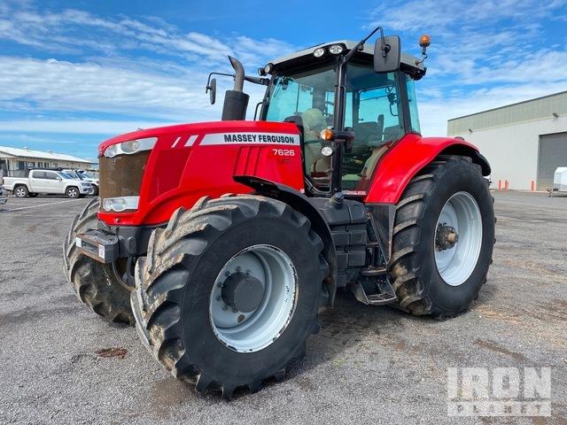 2015 Massey Ferguson 7626 4WD Tractor, MFWD Tractor